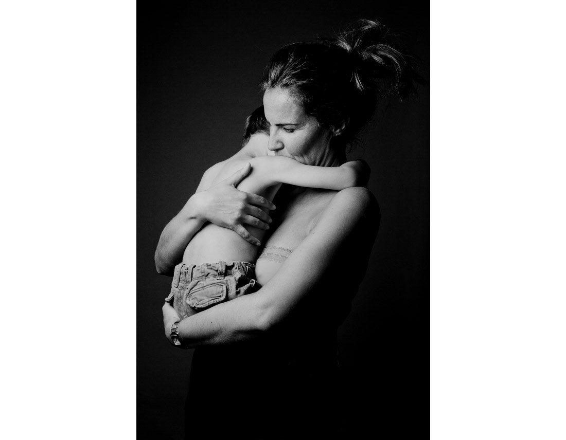 Mere et son enfant.