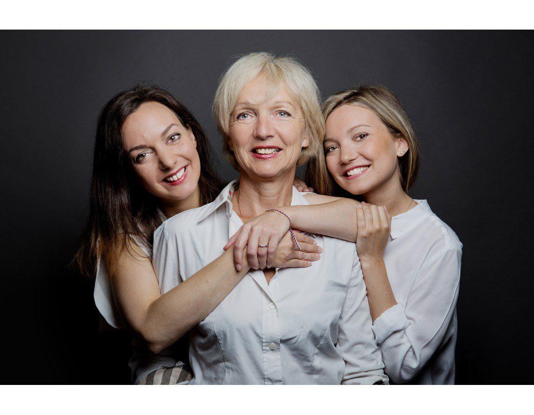 Maman et ses filles.