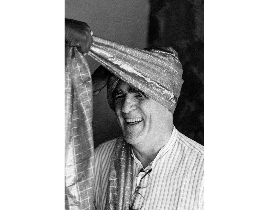 Turbans indien pour les invités masculins.
