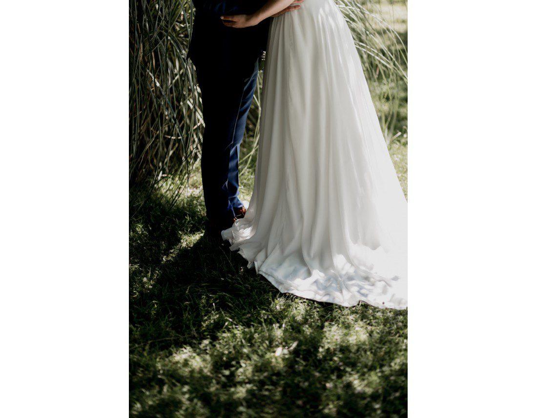 Jupe et herbe des mariés. Jesus Peiro.