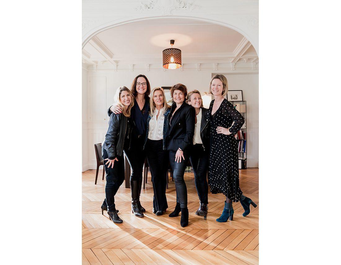 Portrait de groupe de femmes entrepreneuses