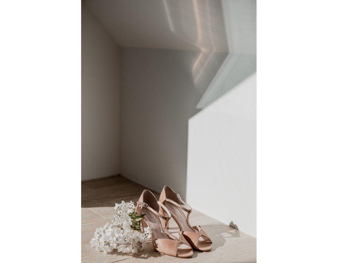 Chaussures André de la mariée.
