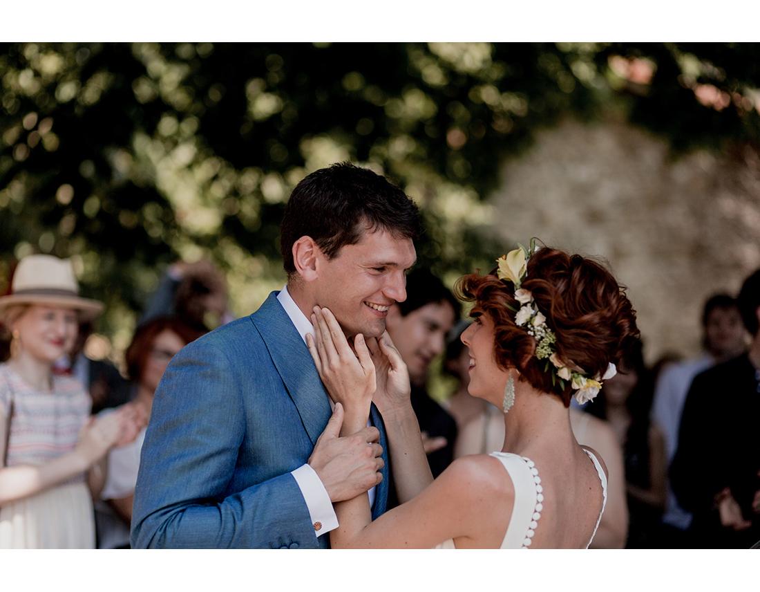 Découverte de la mariée, first look