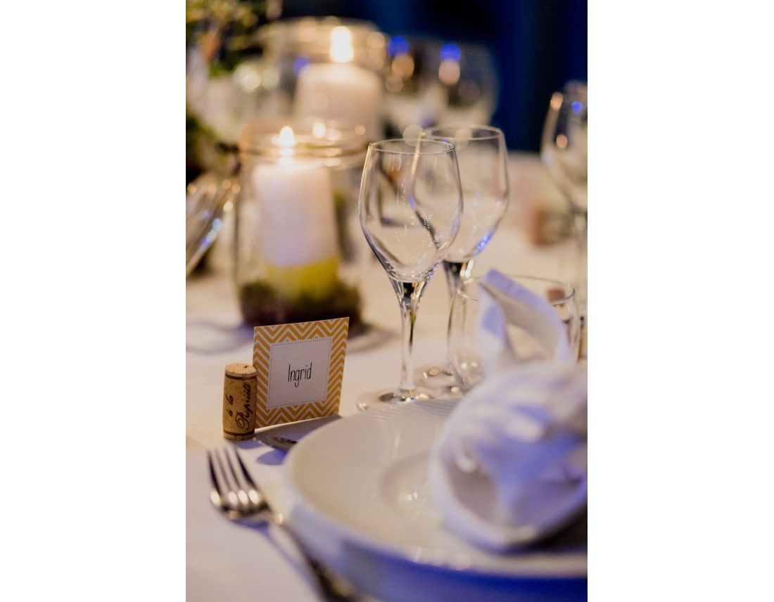 Marque place a table mariage