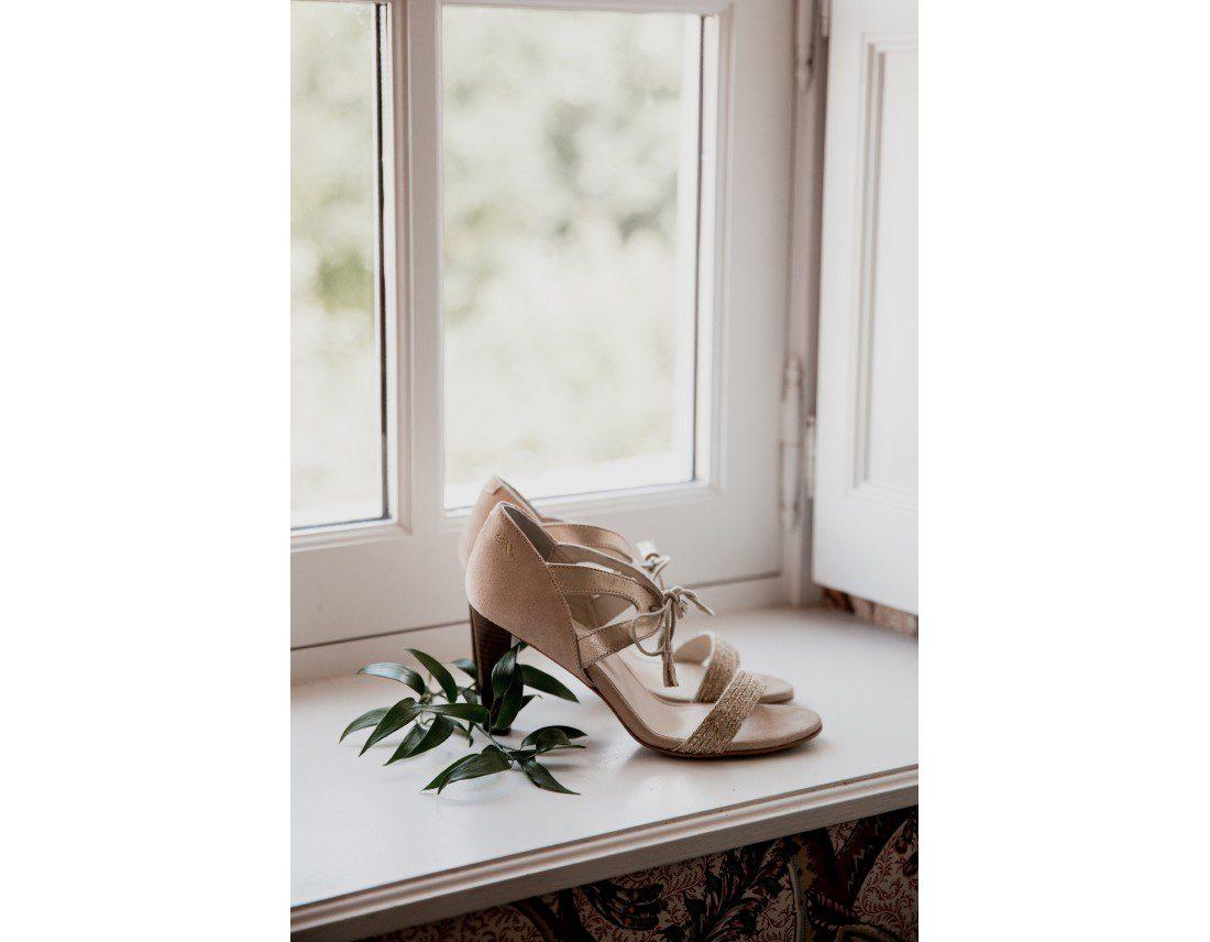 Chaussues de la mariée