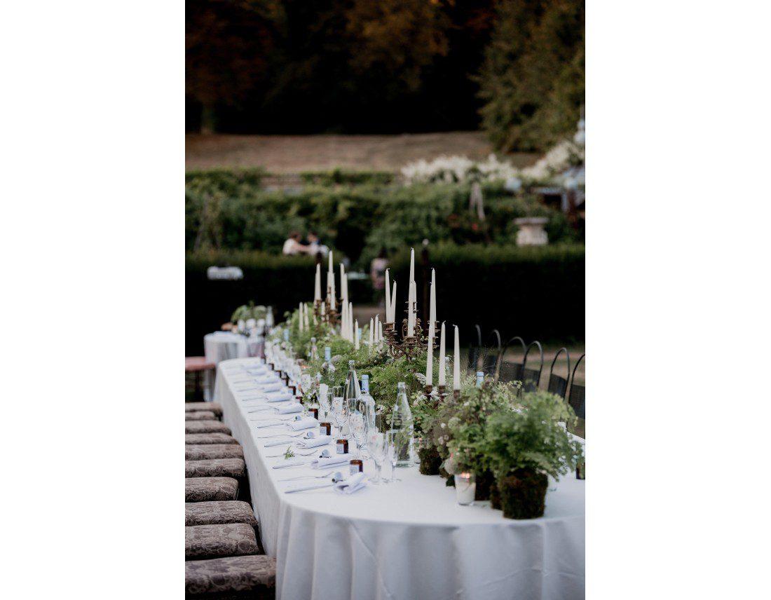 tables décorée pour mariage.