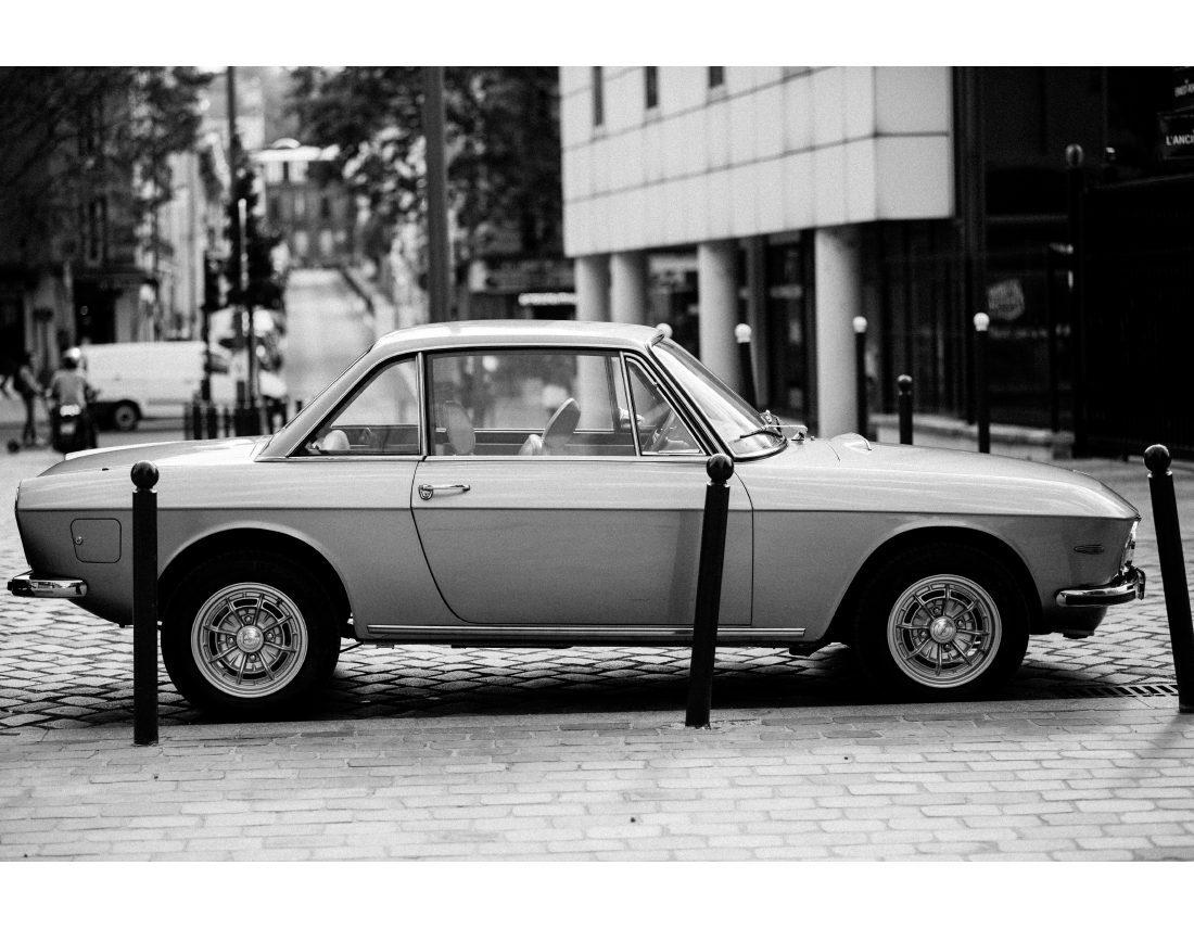 Belle voiture ancienne pour mariage.