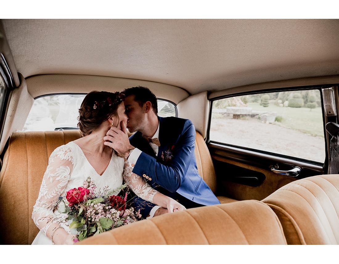 au mariage en bretagne au Domaine de la Haye d'Irée par Camille Collin.