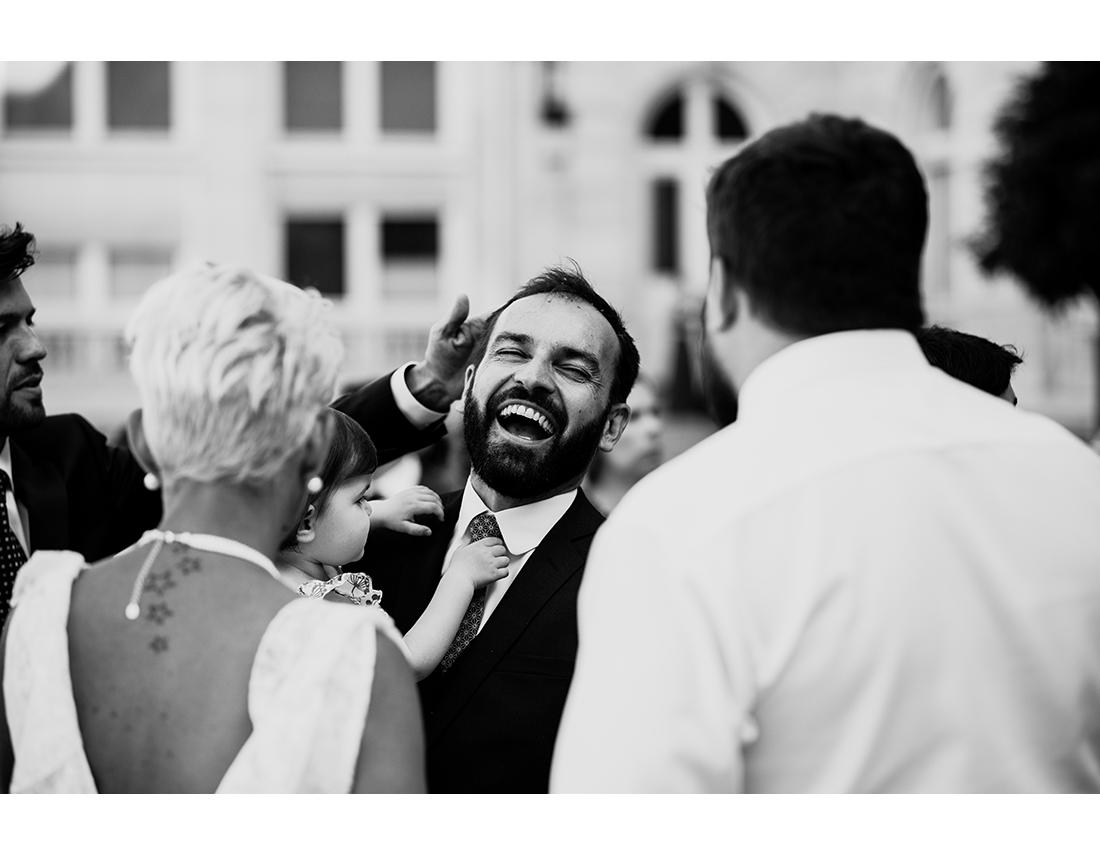 Mariage chill & chic à Paris puis à La Minotte.