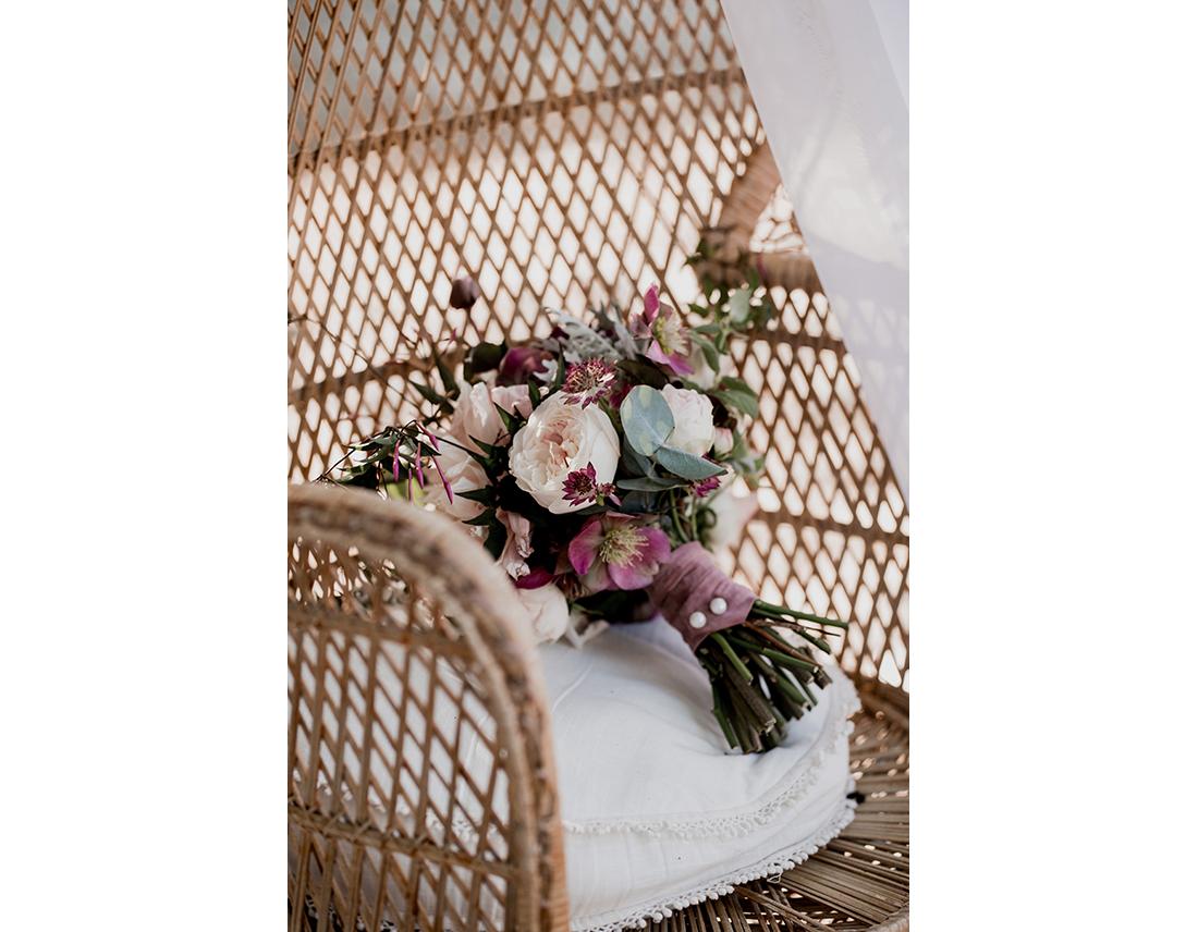 Bouquet de mariée (l'art qui pousse)