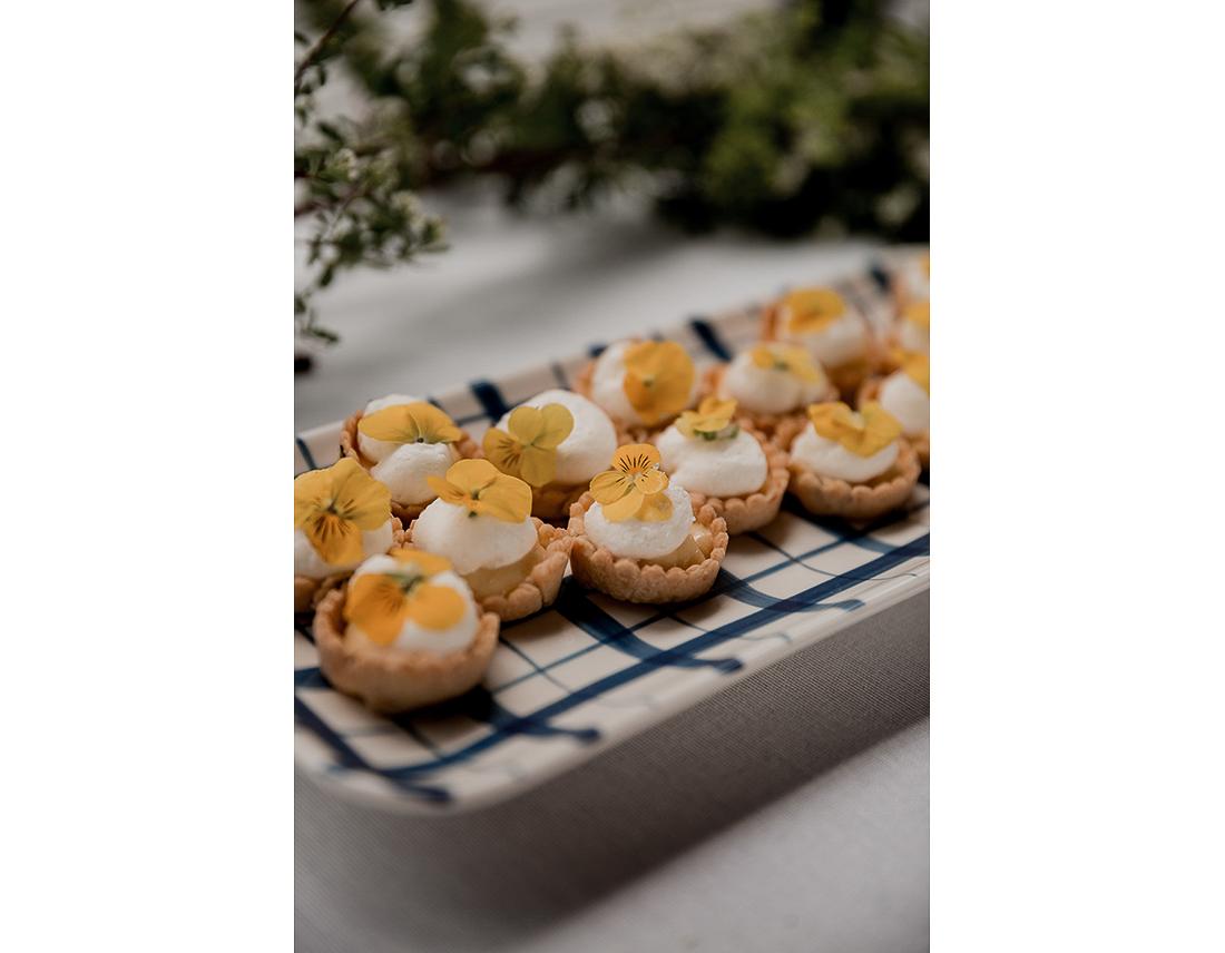 Finger food de mariage, Café coeur – Sarah.