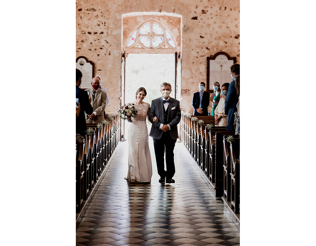 Mariage Boheme Domaine de Ronsard robe rime arodaky
