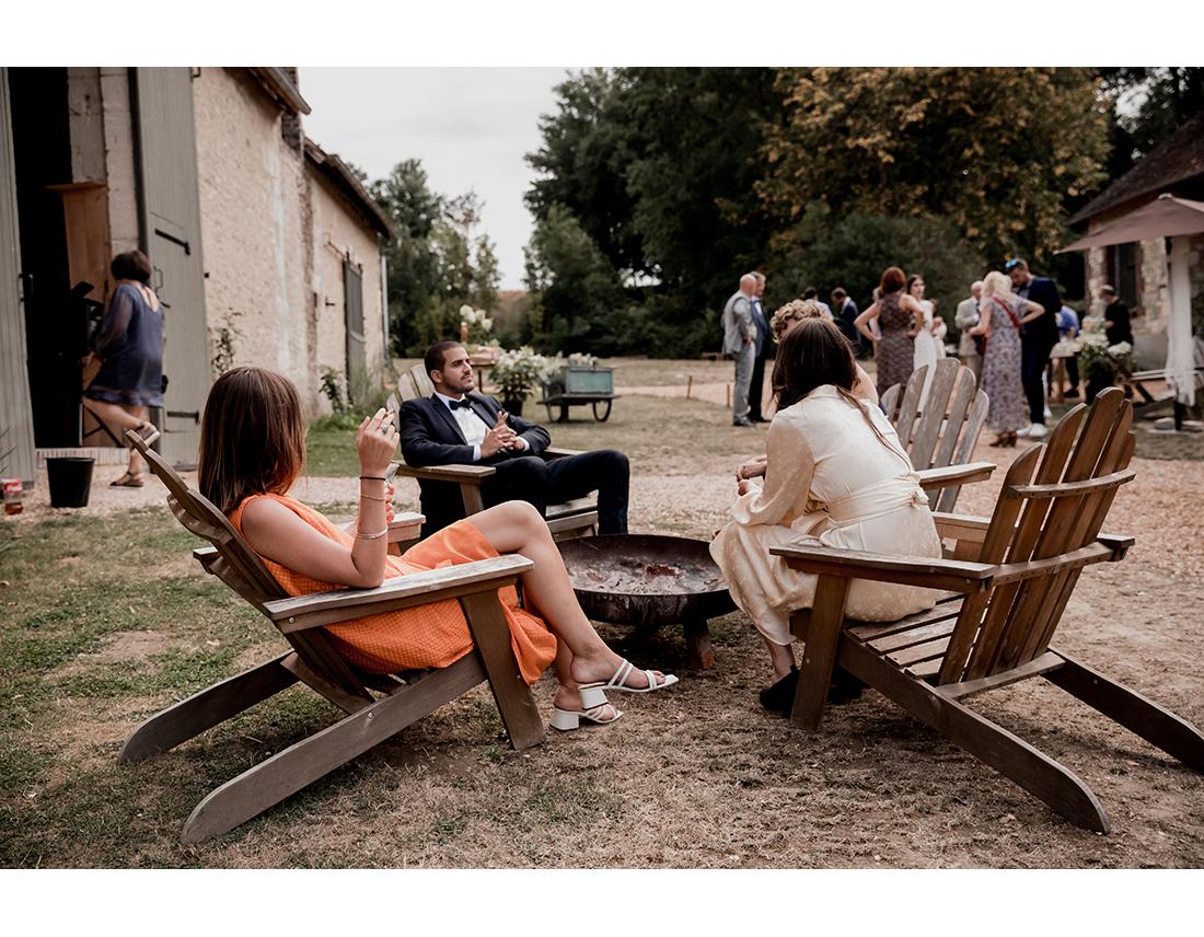 Mariage Boheme Domaine de Ronsard