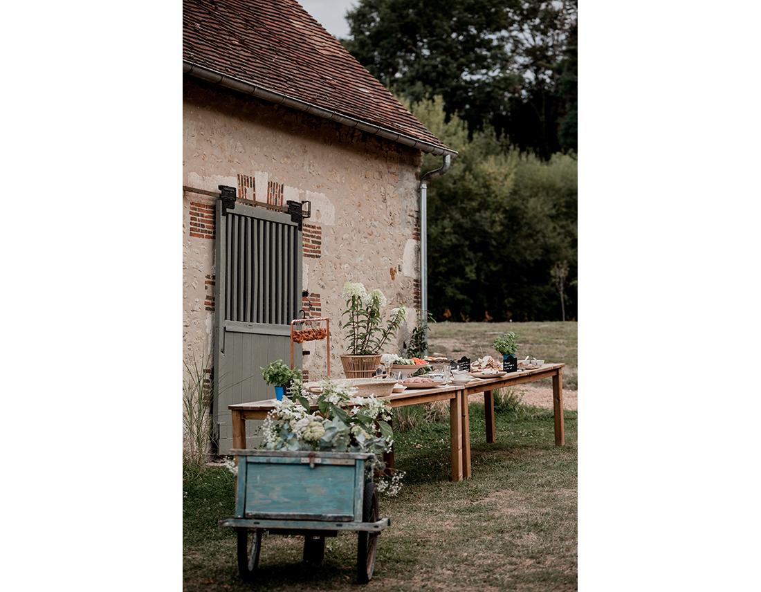 Mariage Boheme Domaine de Ronsard juliette meyer